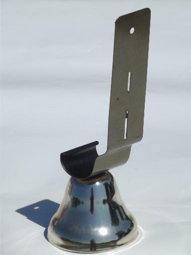 & vintage shop bell door mount doorbell w/ nice clear tone no hardware