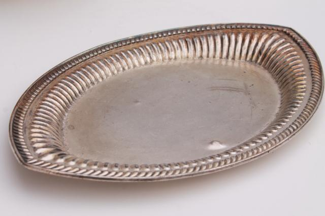 vintage silverplate soup tureen u0026 platter serving tray antique Wilcox mark International Silver & vintage silverplate soup tureen u0026 platter serving tray antique ...