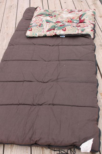 Vintage Sleeping Bag Wenzel Woodsman Xl 39