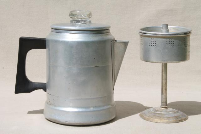Old Fashioned Gl Coffee Percolator Libaifoundation Image