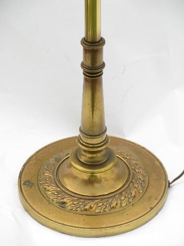 91 solid brass floor lamp