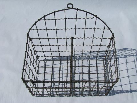 Lovely Vintage Wire Wall Baskets Ideas - Electrical Circuit ...