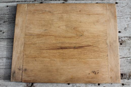 vintage wooden bread boards 3