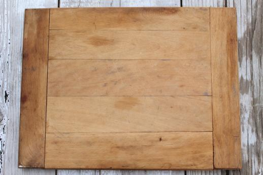 vintage wooden bread boards 2