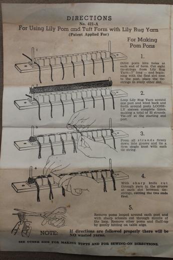 rug doctor instruction leaflet