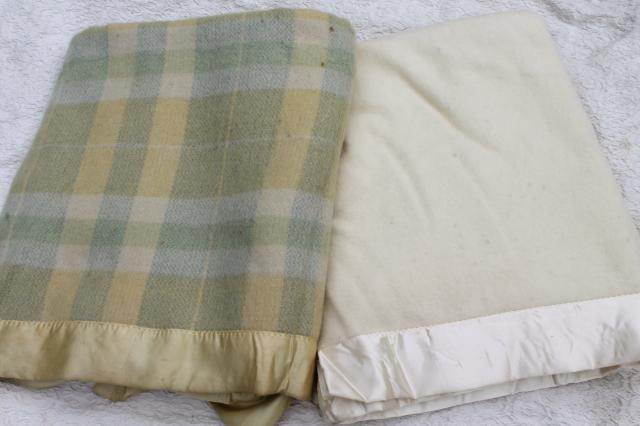 Vintage Wool Blankets 33
