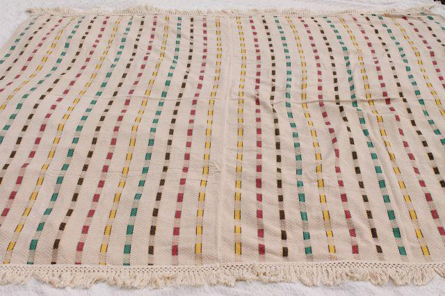 Natural Colored Cotton Blanket