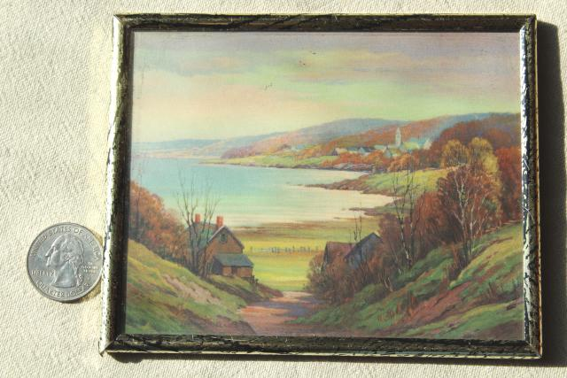 wall art collection 1930s vintage framed prints bubble