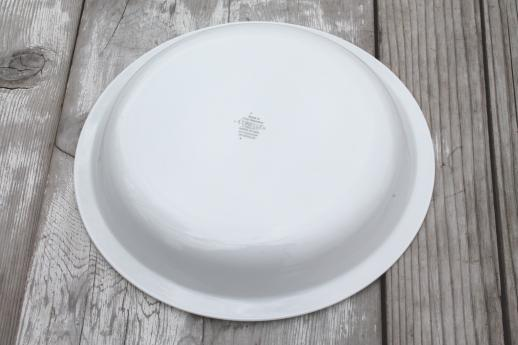 winter frost white Corelle Corning glass pie plate 10 inch diameter pie pan : 10 inch pie plate - pezcame.com