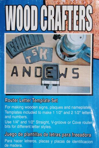 router templates for signs - wood sign making template jig 1 1 2 2 1 2 letter