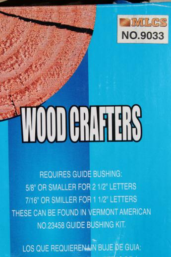 wood sign making template jig 1 1 2 2 1 2 letter guides wood
