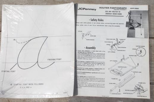 router templates for signs - woodworking router jig for making signs jc penney router
