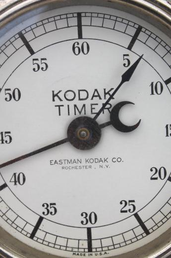 working vintage Eastman Kodak darkroom timer for antique steampunk photo lab!